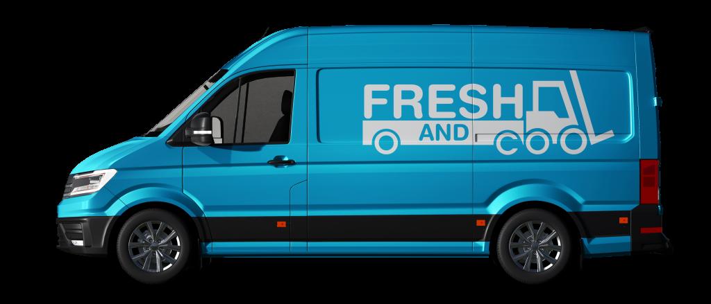 Chiller Van for rent